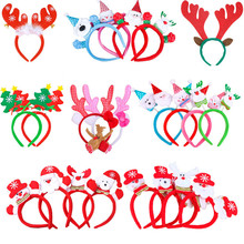 Christmas hair accessories head buckle Christmas dress up proclaims Christmas hair bands