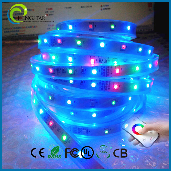 New promotion black battery powered led strip 3528 IC light