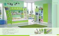 2016 Adams Platform Customizable kids Bedroom Set cheap was made of E1 MDF board for kids