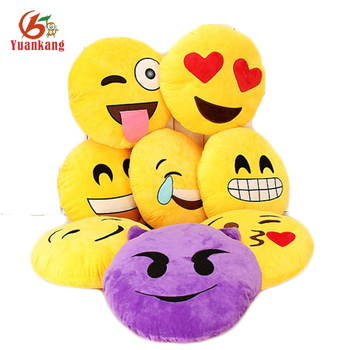 Custom 35Cm Cheap Throw Pillow Whatsapp Emoticon Plush Poop Emoji Pillow For Decorative