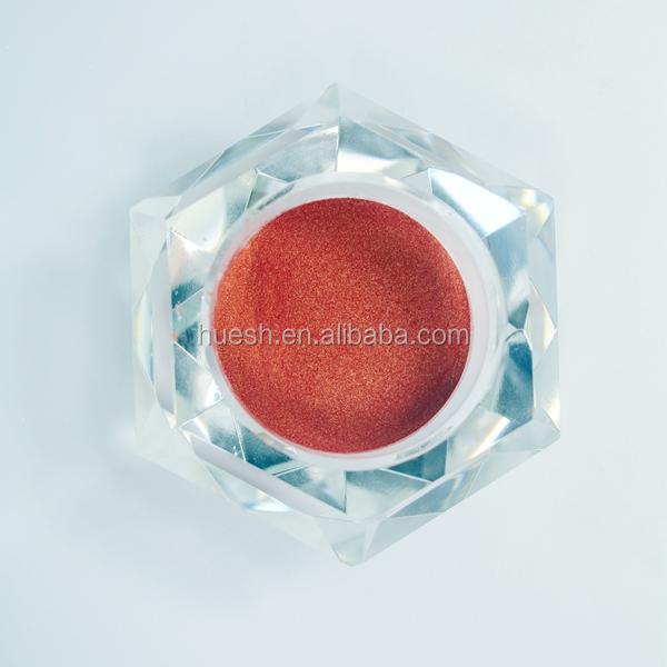 Allura red mica color powder pearl pigment HUE-215R