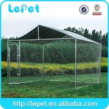 Hot sale garden and backyard large outdoor iron dog pen enclosures