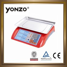 YZ-986 new ABS , more colors housing electronic digital price computing refrigerant scale