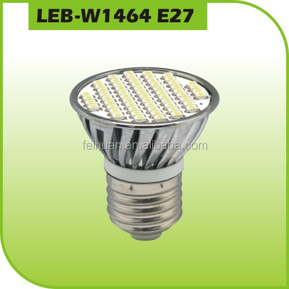 3/4/5w SMD 3528 LED spot bulb hot sale sharp dimmable E27