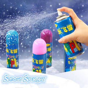 250ML Christmas And Party Window Colored Magic Snow Spray