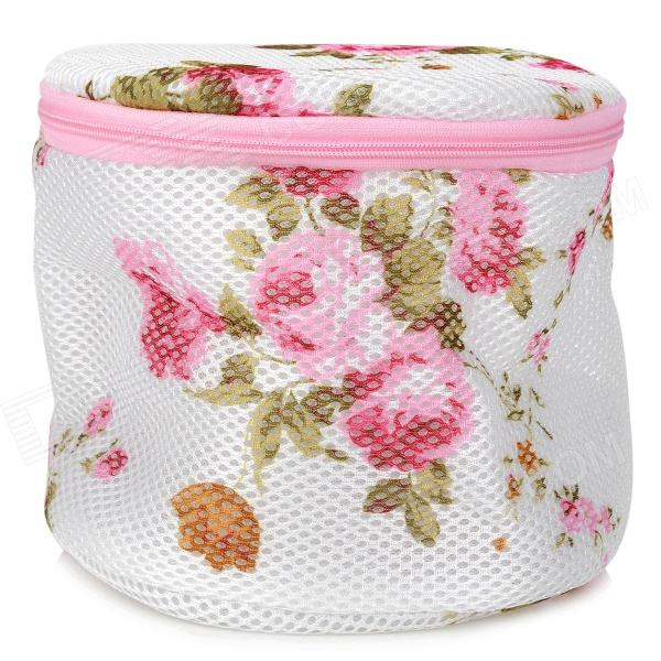 Beautiful Outdoor Floral Wash And Fold Laundry Bags