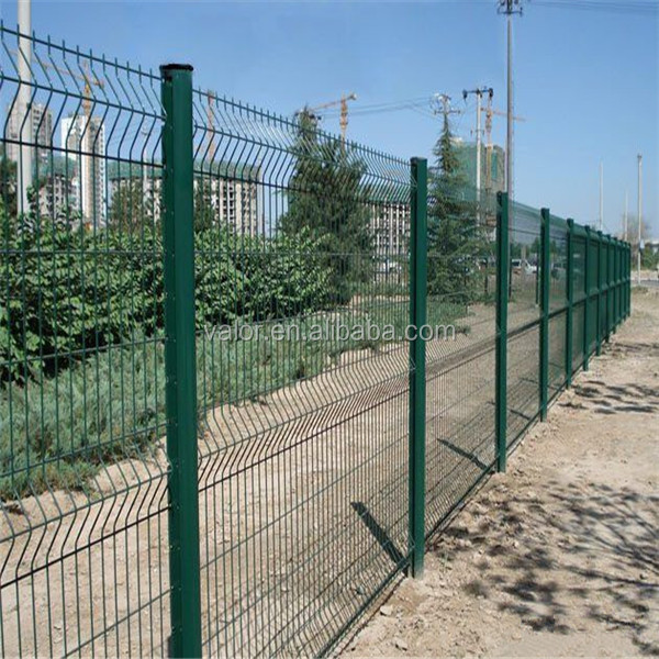 welded wire mesh Metal garden fence panels