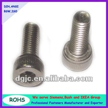 Fine thread Metric Socket head cap screws