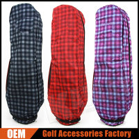 Custom Classic Grid Golf Travel Bag Covers