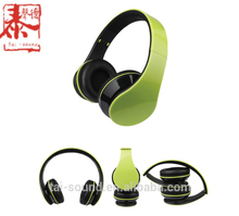 Metal colorful high quality Hifi stereo gaming portable handsfree headphone with mic