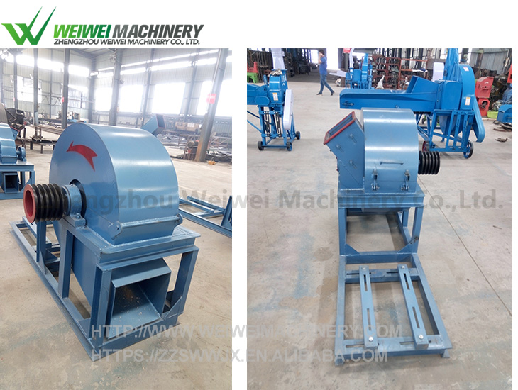 Weiwei factory price wood branches chipper shredder