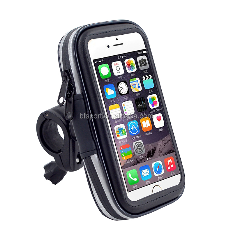 Black wholesale armband outdoor bicycle holder for bicycle phone holder