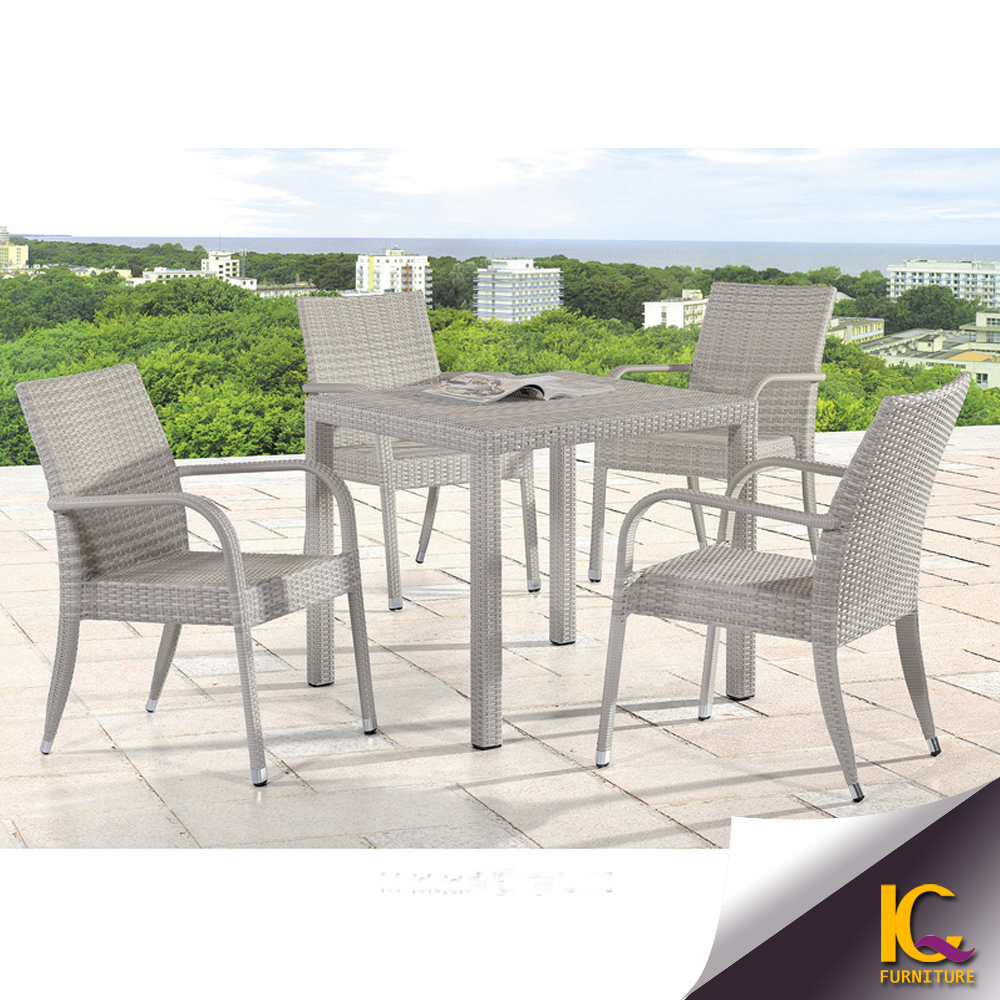 unique design patio dinning set rattan garden dinner table hammary boracay 5 piece round glass dining room set in