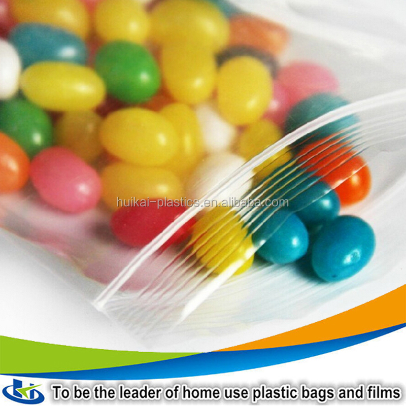 New products 2017china suppliers Clear plastic zip lock bags sugar packaging bag
