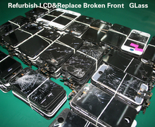 for Verizon,T-Mobile,Sprint cellphone,no dead pixel lcd display for iphone 6,for iphone 5 lcd panel fix cracked screen