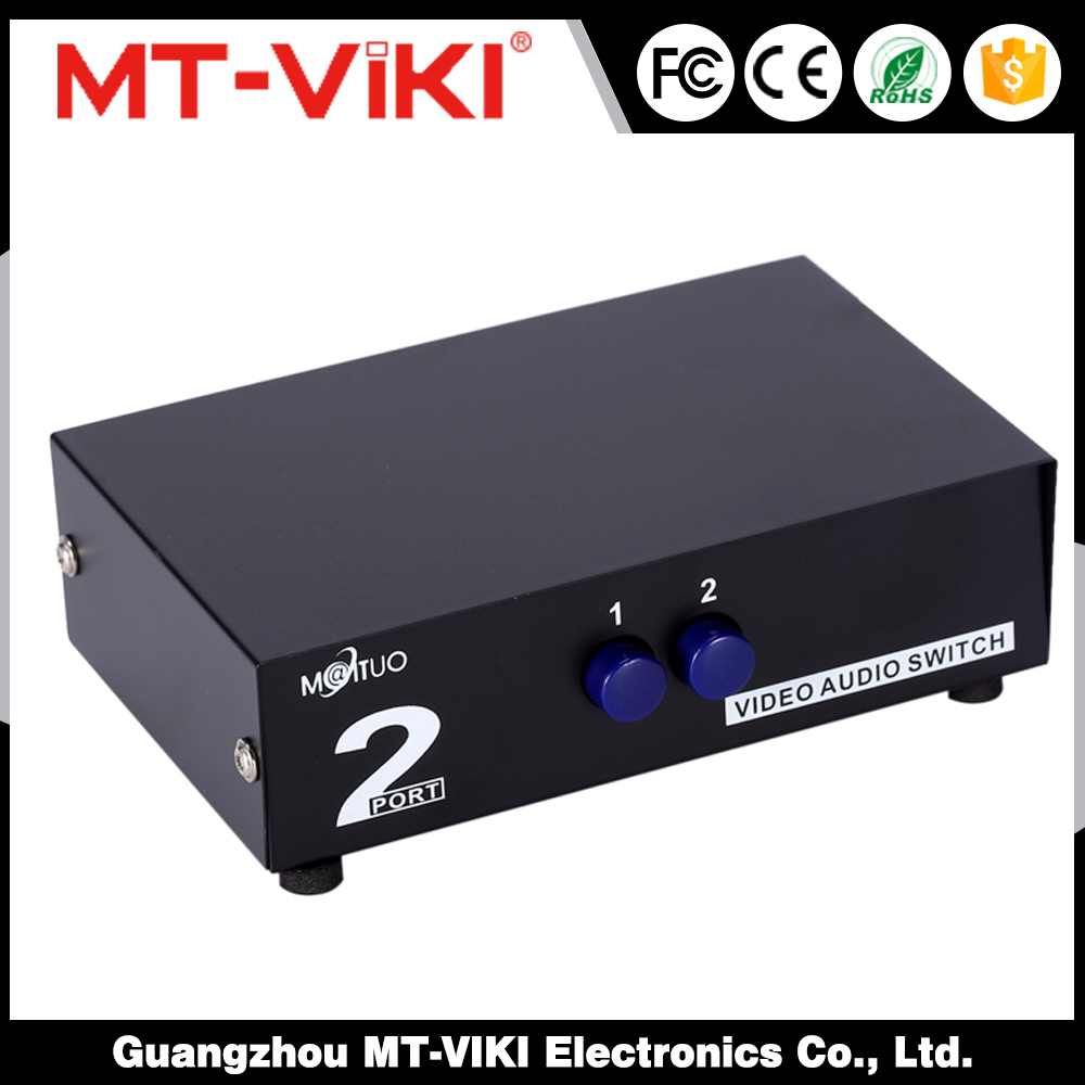 Metal enclosure, excellent stability and longevity Av Switch