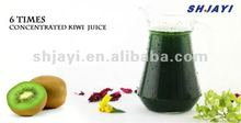 6 times concentrated kiwi juice with pulp