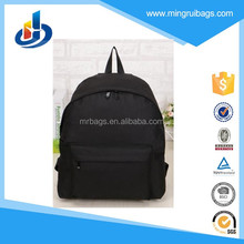 New style 600D bag black backpack for school