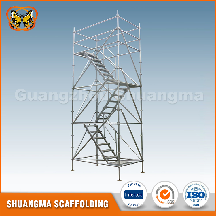 construction layher type scaffolding system
