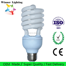 40w Half Spiral Energy Saving Bulbs In Stock CFL Spiral Lamp Factory Directly Sale