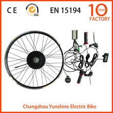 City electric bike conversion kit, 700c electric bike motor electric bike kit 1000w with battery