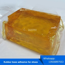 synthetic rubber base hot melt adhesive for shoe making