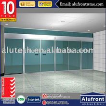 Auto glass sliding door