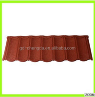 Highly architect designed stone coated metal roof tiles / Exclusive assembly roof system