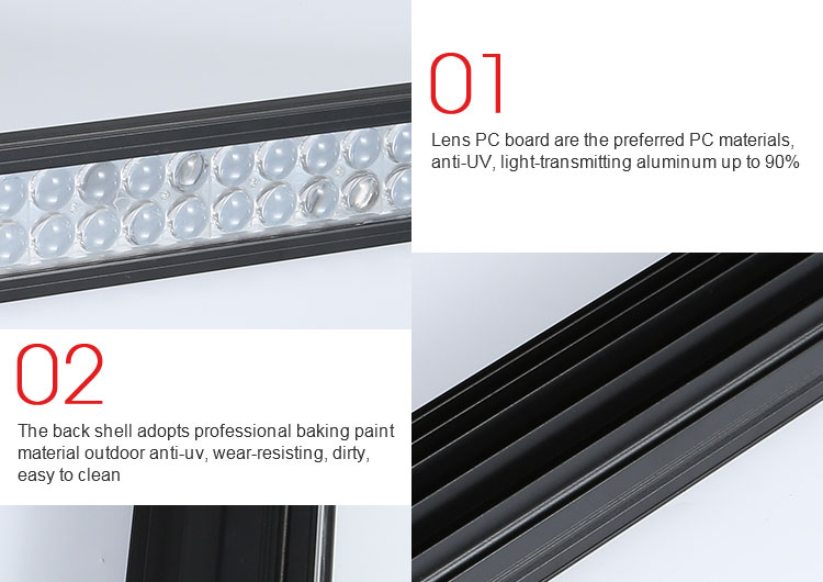 Super bright 240w 10400lm auto lighting system led light bar 106cm car truck offroad strobe led lamp bar
