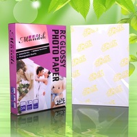 resin coated wterproof rc glossy photo paper