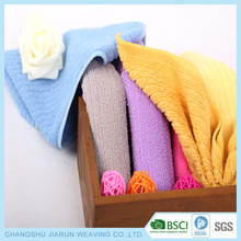 BSCI factory JIARUN China supply customized high water absorbent quick dry microfiber hand towel size,towels hand towel terry