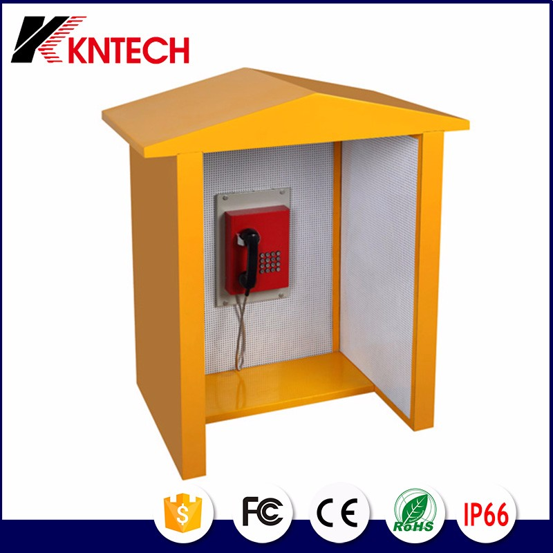 acoustic telephone booth noise reduction 23dB soundproof booth rf-15 kntech