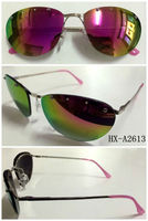 High quality low price new design multi colored sunglasses
