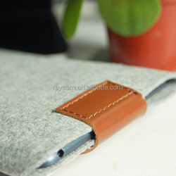 Felt sleeve tablet case for iPad Air business bag for Ipad Pro case