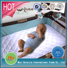 TPU/PU coated mattress cover eco-friendly waterproof baby bed cover