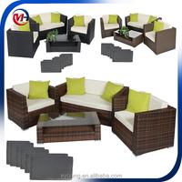 4 piece suit outdoor and indoor rattan furniture