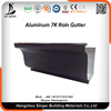 Metal building materials low price rain roof gutters system aluminum extrusion gutters