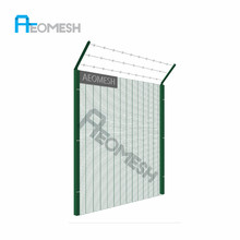Canton Factory anti climb security 358 fence