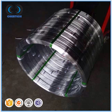 Export to Brazil Paraguay Uruguay hot-dip galvanized oval steel wire, animal farm oval wire