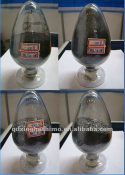 silvery natural crystalline graphite flakes