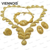2015 Viennois stock dubai gold jewelry set