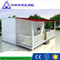 Comfortable living 20ft container house fabricated container house