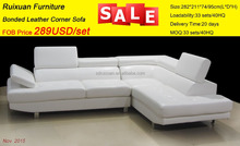 American Style / Professional Furniture Manufacturer Modern Leather sectional Sofa 8138