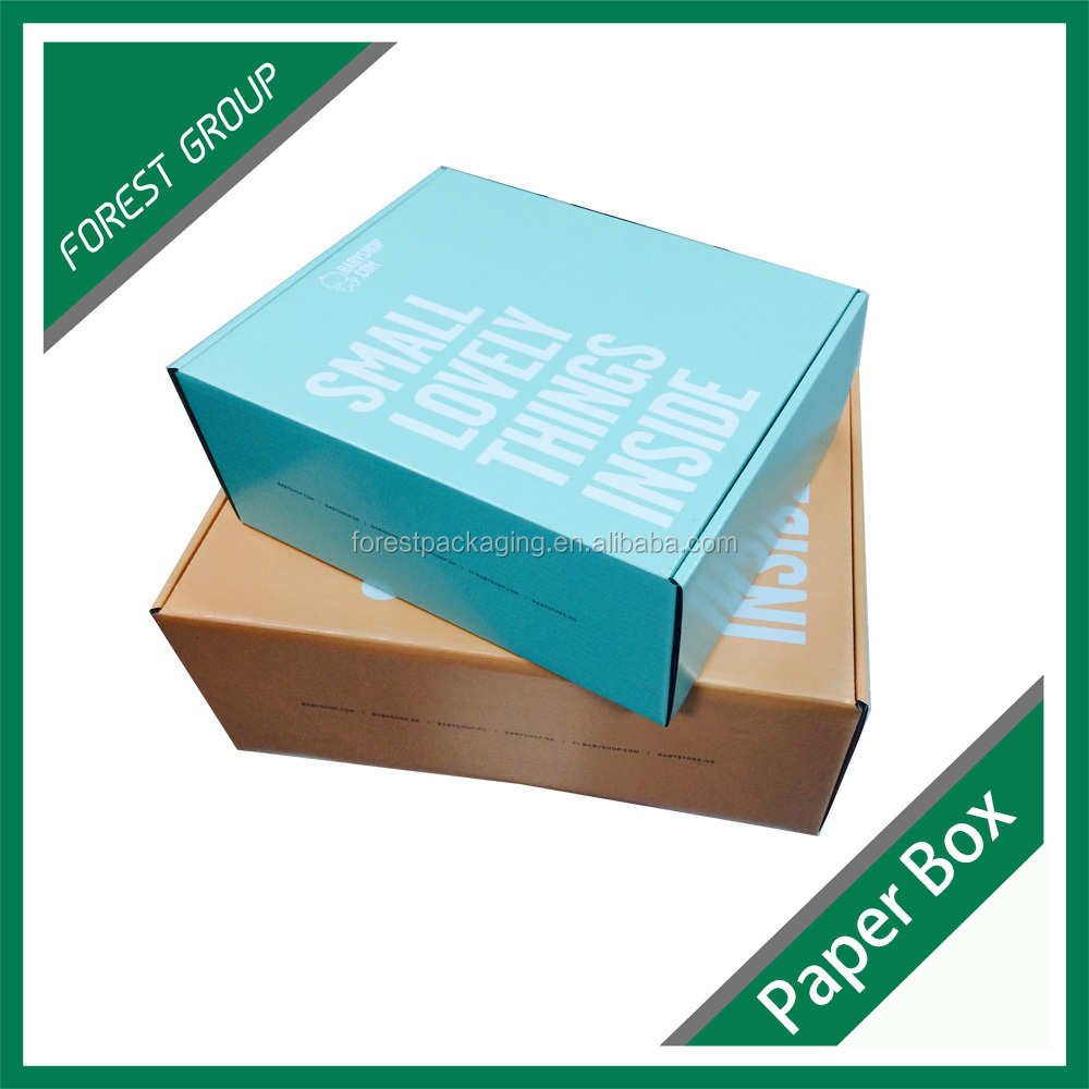 Corrugated Carton Packaging Box For Leather Shoes