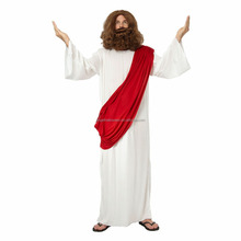 Jesus moses robe biblical men's fancy dress costume christmas for adult AGM2523