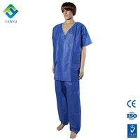 Pp Sms Navy Blue Nonwoven Medical
