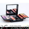professional 23 color eye shadow powder Makeup Kit (brush+mirror+eyebrow pencil) all in one palette