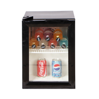 Custom Energy Drink Whisky Thermostat Promotion Electric Stand Up Mini Wine Showcase Refrigerator Beer Glass Bottle Cooler