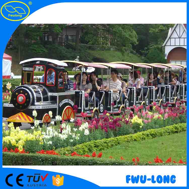 City Amusement Rides Electric Battery used trackless train for sale for indoor playground road train,diesel train