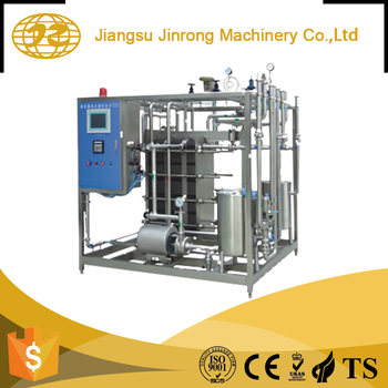 High performance customized small plate pasteurizer